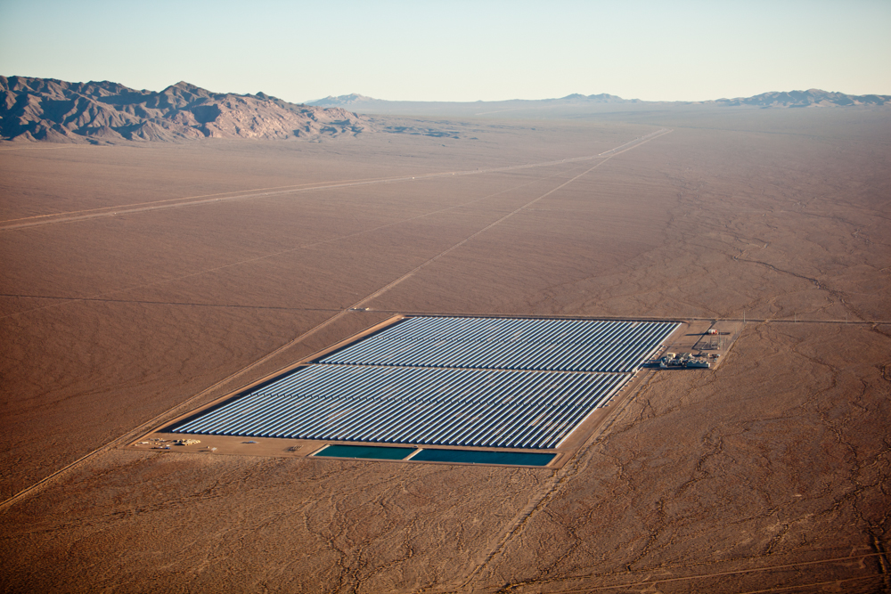 The American Landscape at the Tipping PointMay 5 - July 2, 2011WEBSITEImage: Concentrated Solar, Clark County, NV 2009 (091025-0502)