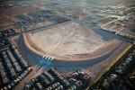Storm Water Retention Basin, Las Vegas, NV 2009 (091025-0549)