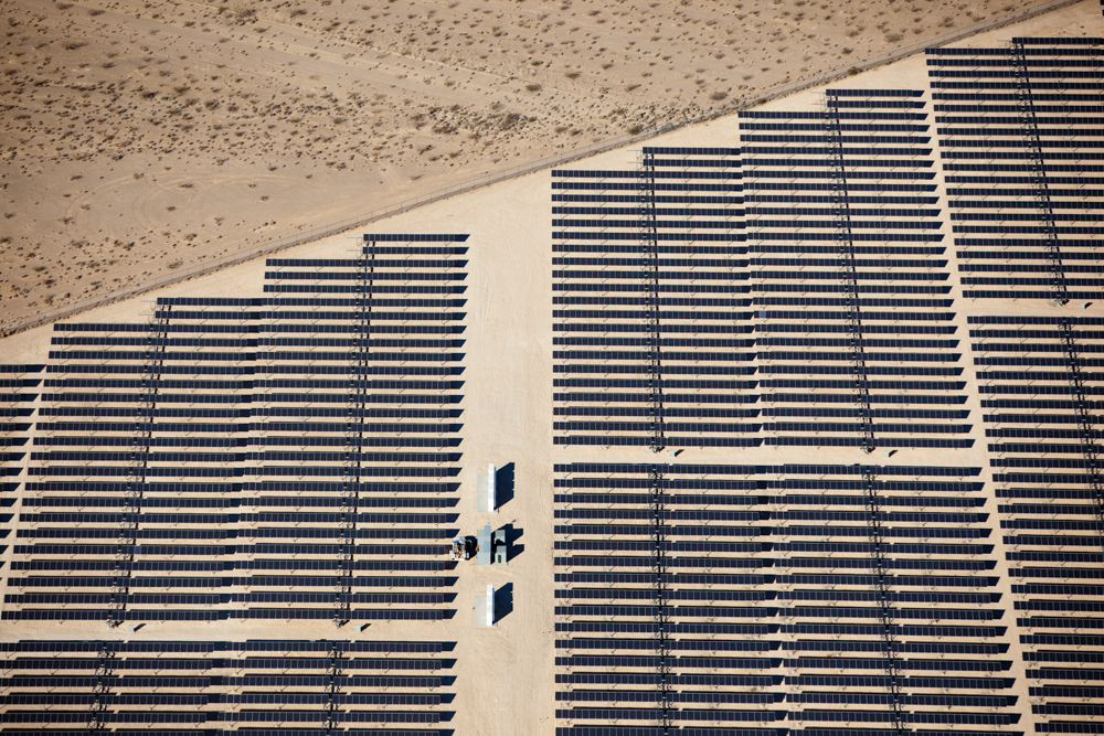 Solar Cells at Star Nellis Air Force Base, Las Vegas, NV 2009 (091026-0158)