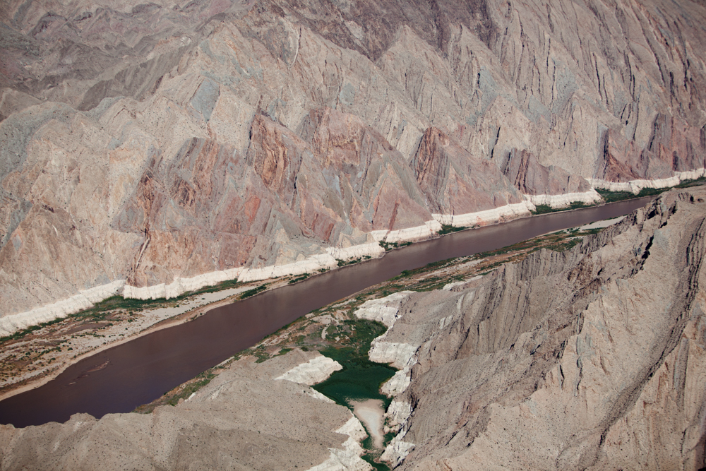 Low Water on the Colorado RiverMohave, AZ 2009Digital Capture, Ref #: 091026-0386