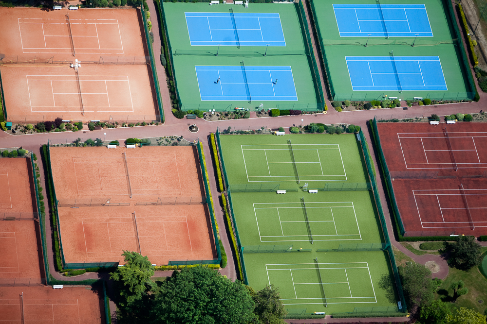Tennis Court Surfaces Le Pecq, France 2010Digital Capture, Ref #: 100528-1076