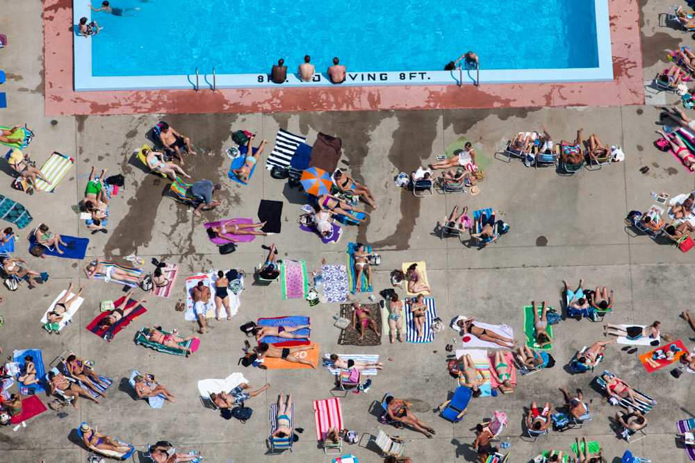 Poolside TanningCambridge, MA 2012Digital Capture, Ref #: 120708-0309