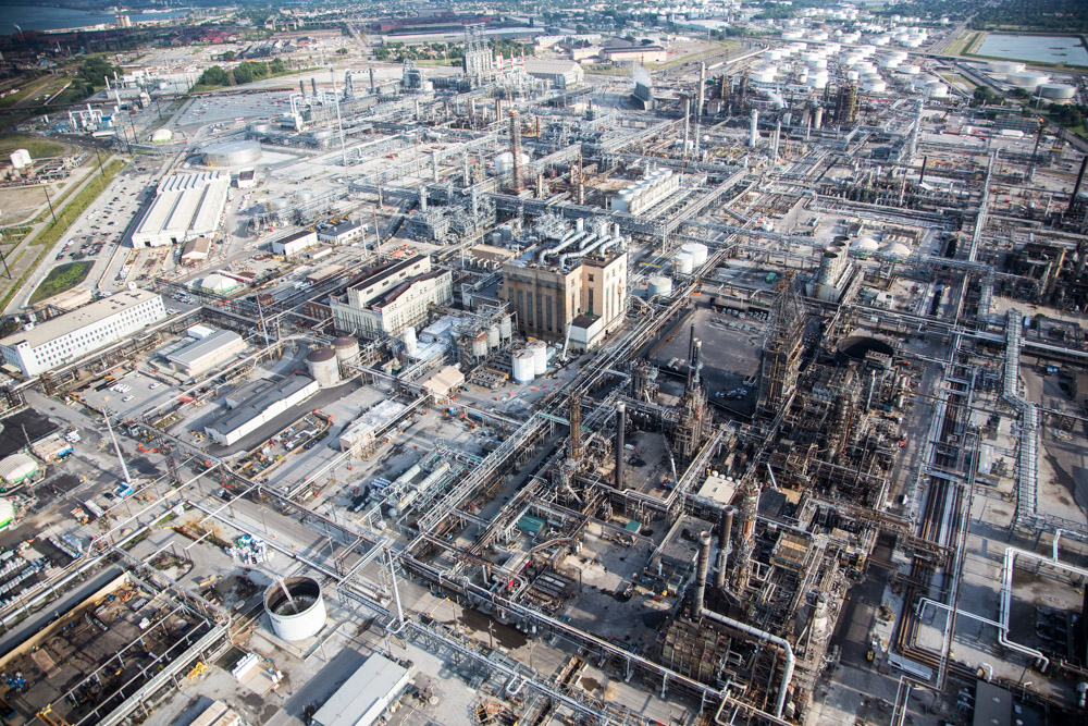 BP Refinery, Whiting, Illinois 2014 (140824-0103)Featured in the November 2014 issue of Landscape Architecture Magazine