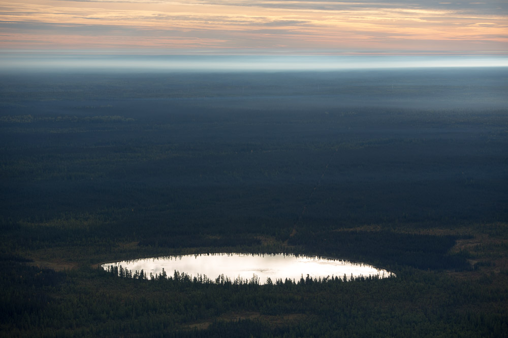 Natural Pond, Alberta, Canada 2014 (140915-0041)