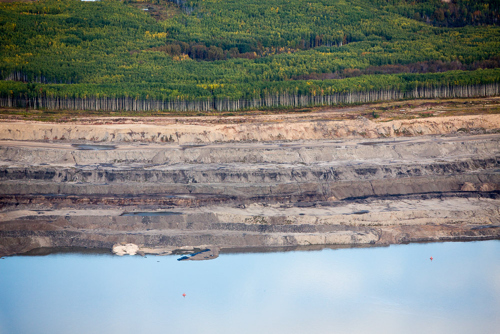 Terraces of Open Pit Tar Sands MineSyncrude Mildred Lake, Alberta, Canada 2014Digital Capture, File Ref. 140915-0252Featured in the November 2014 issue of Landscape Architecture Magazine