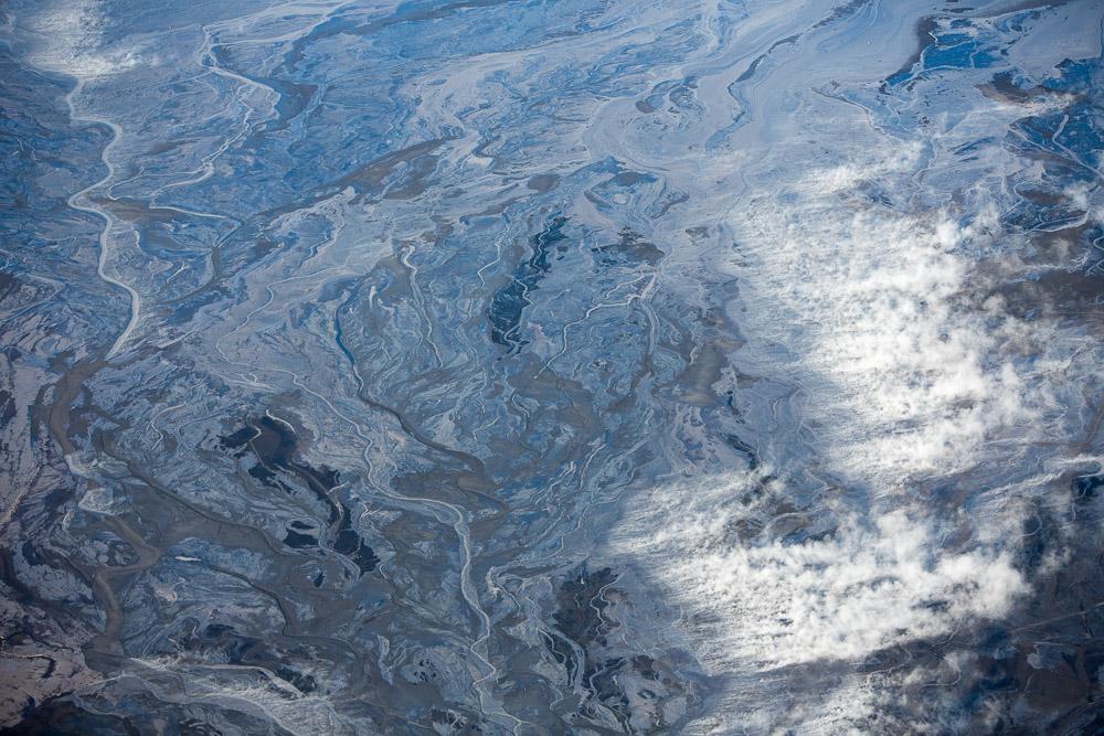 Steaming Effluent, Alberta, Canada 2014 (140915-0361)