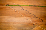 Pivot Shadow on Bare Soil, Adairville, KY 2016 (160424-0646)