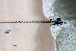 Beach Pilings, Bay Head, New Jersey 2018 (180904-0109)