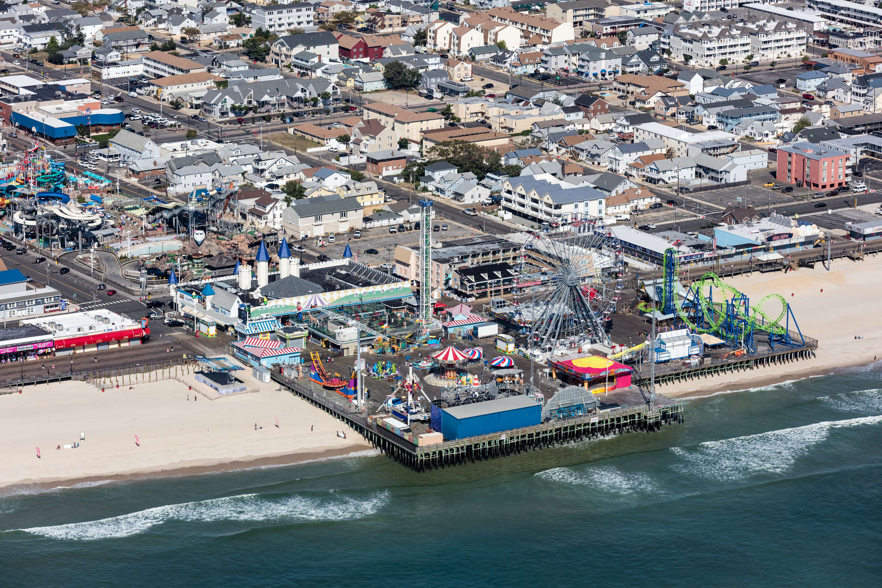 Casino Pier & Breakwater Beach, Seaside Heights, New York 2018 (180904-0253)