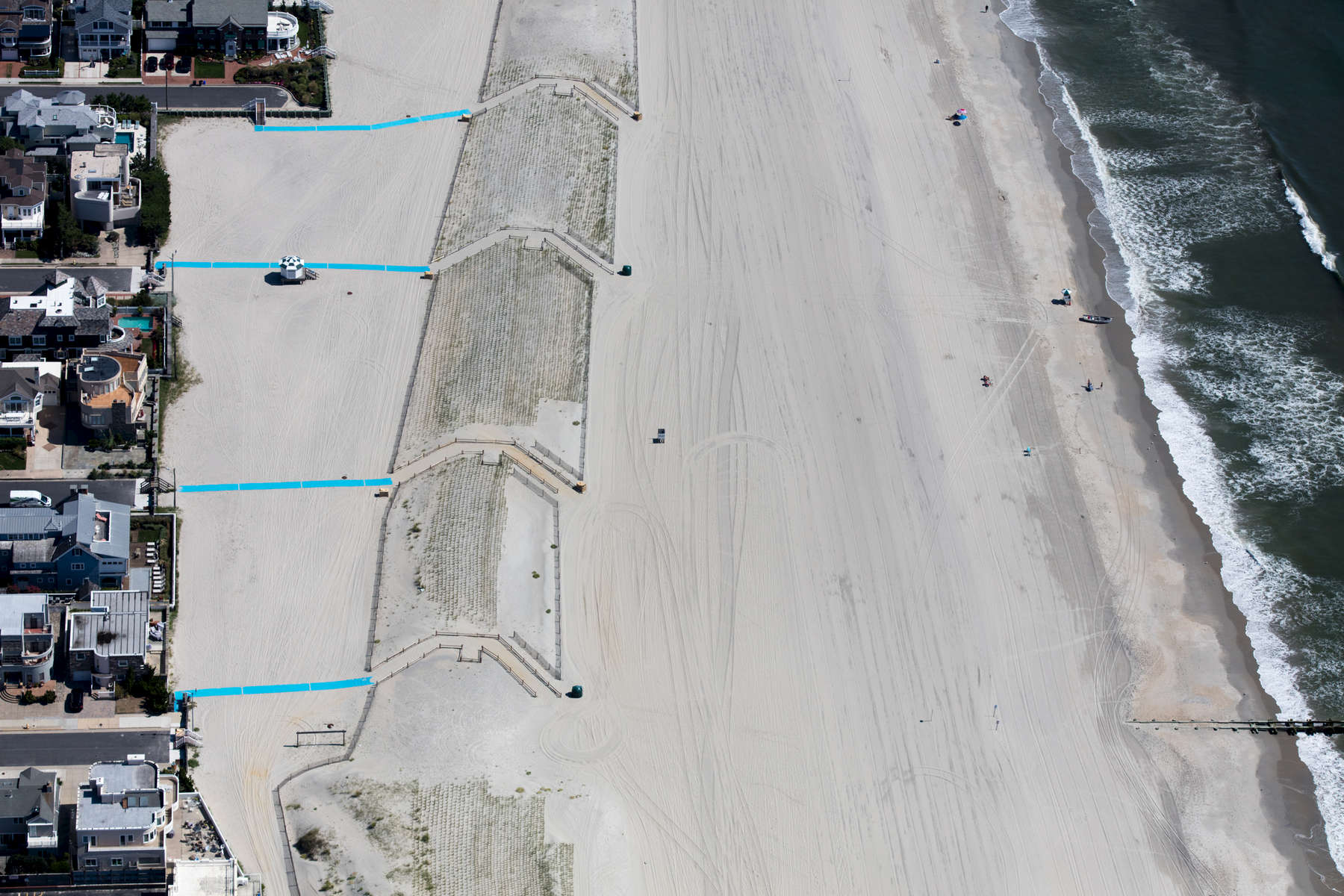 Artificial Dune Protection and Blue Walks, Margate City, New Jersey 2018 (180904-0467)