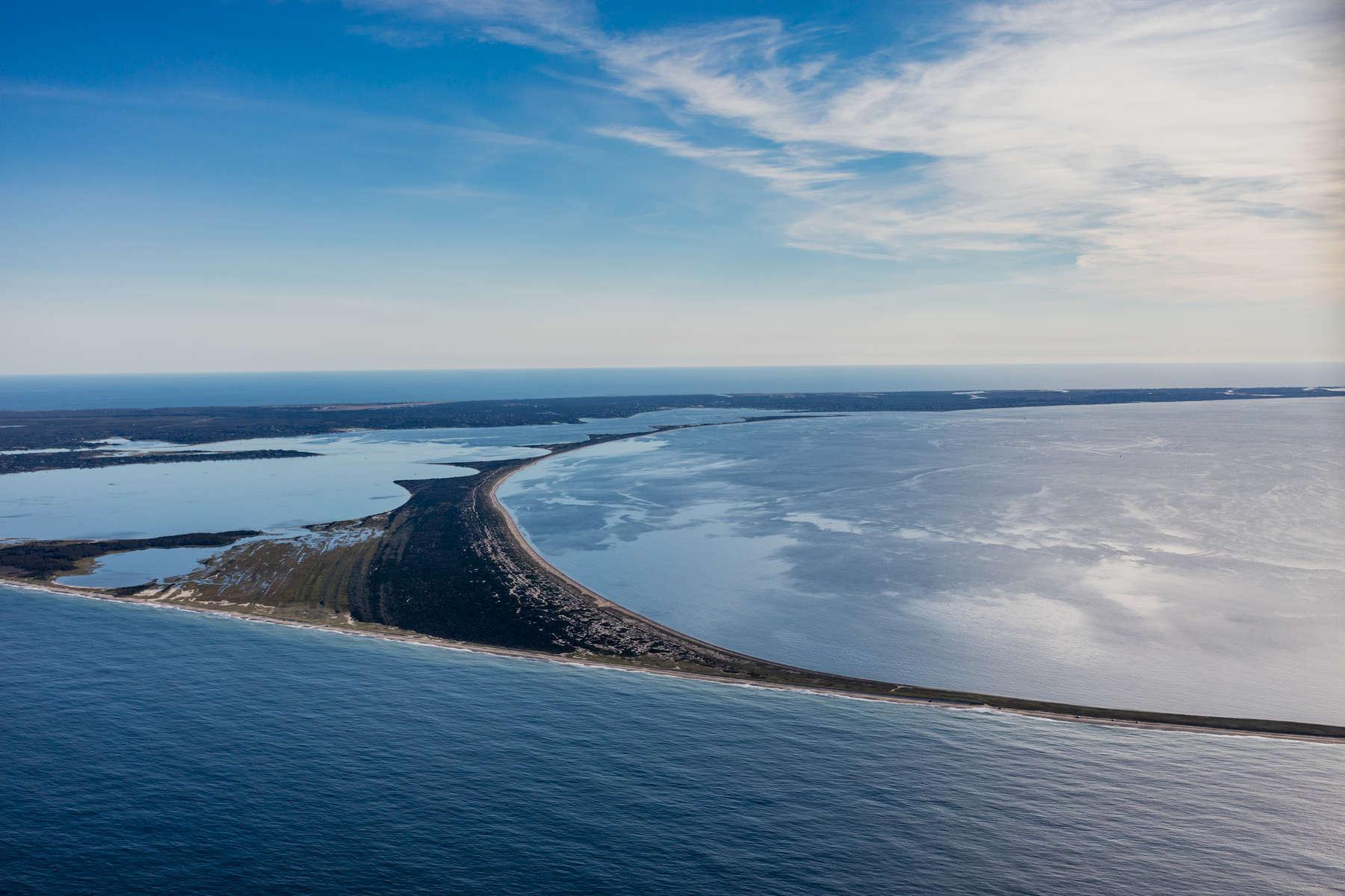 Sand Ridges Leading to Great Point, Nantucket, Massachusetts 2018 (180931-0327)