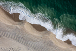 Shoreline Waves at Smith's Point, Nantucket, Massachusetts 2018 (180930-0404)