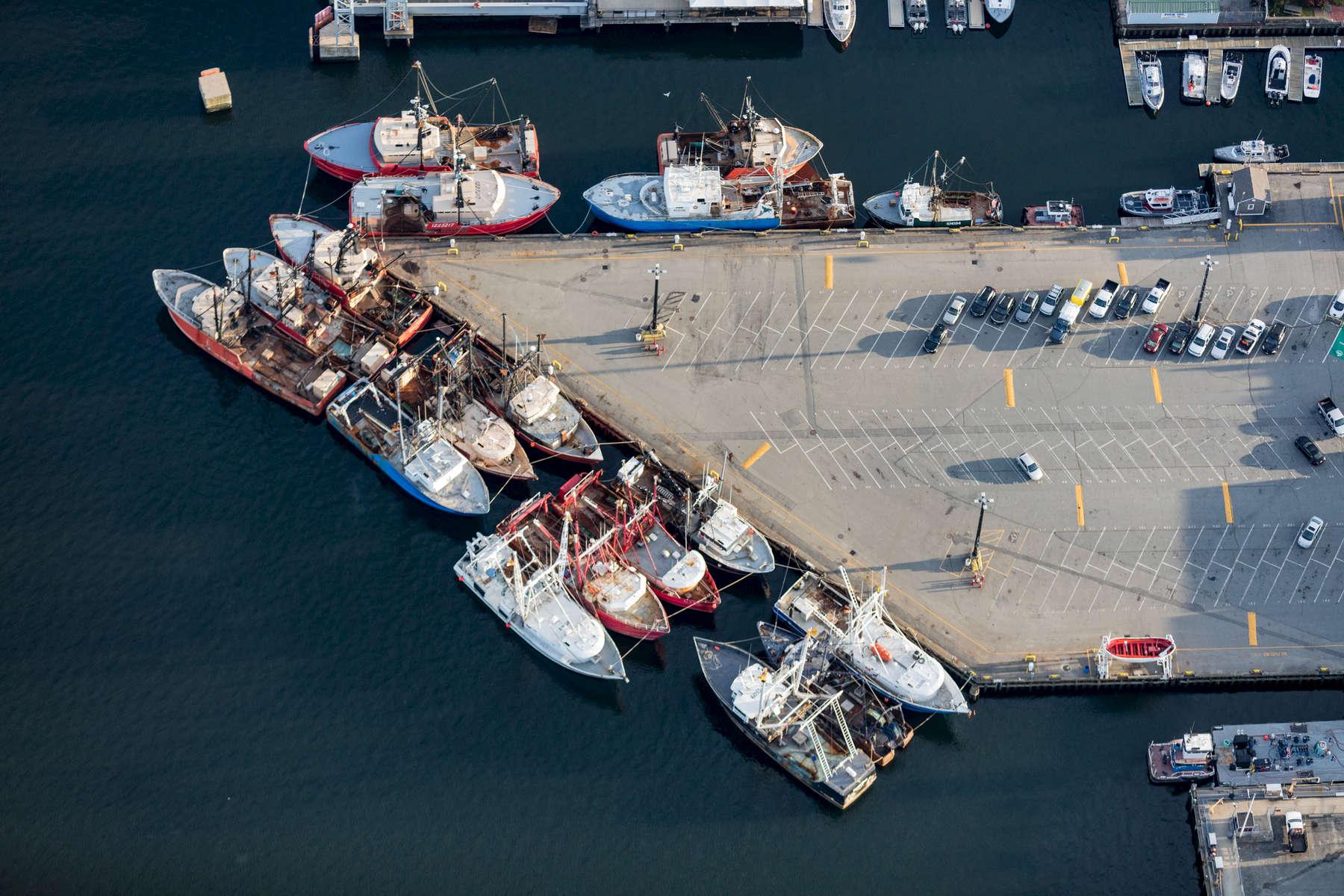 Fishing Fleet, New Bedford, Massachusetts 2018 (180930-0510)