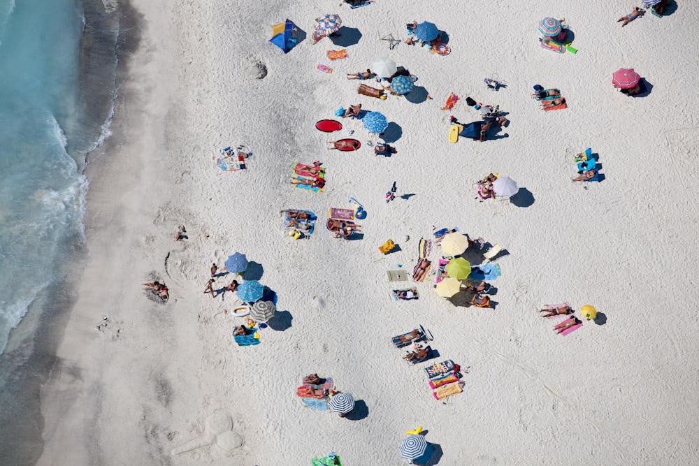 Beach Sunning, Spiagge Beach, Rosignano Marittimo, Italy 2007 (070801-0414)
