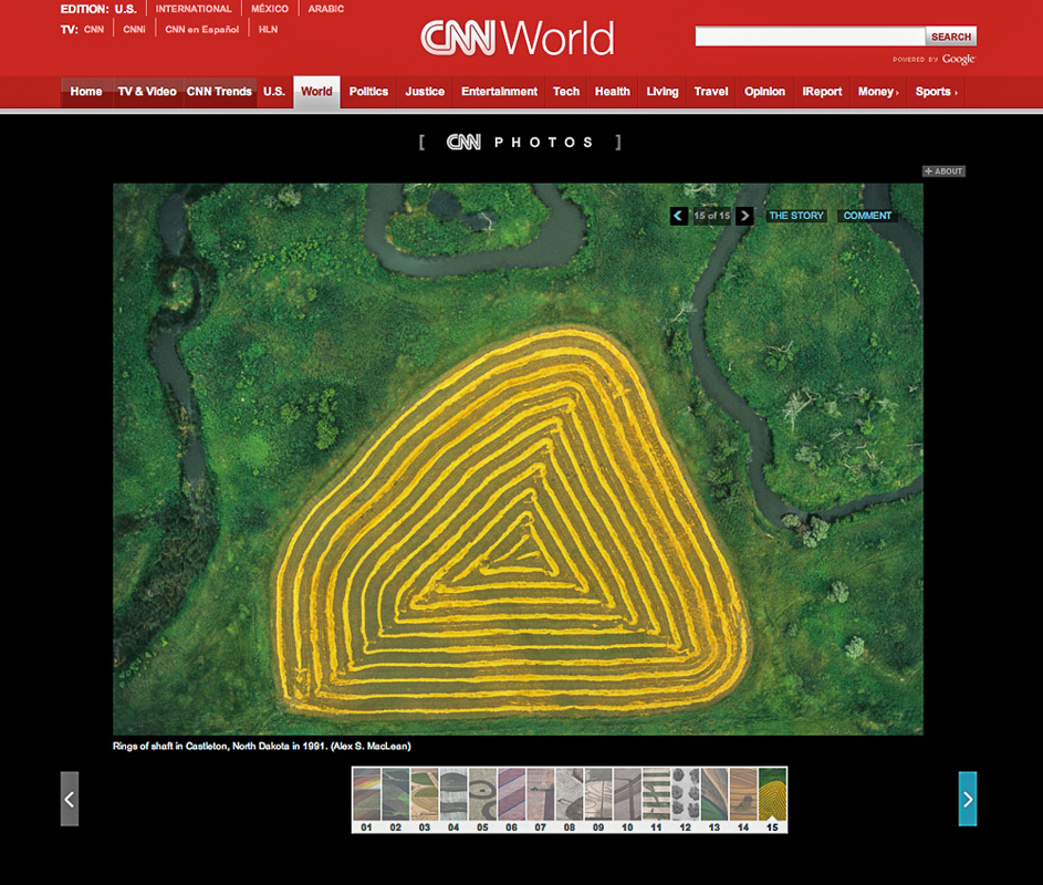 CNNExploring farms from above, Online FeatureApril 17, 2013