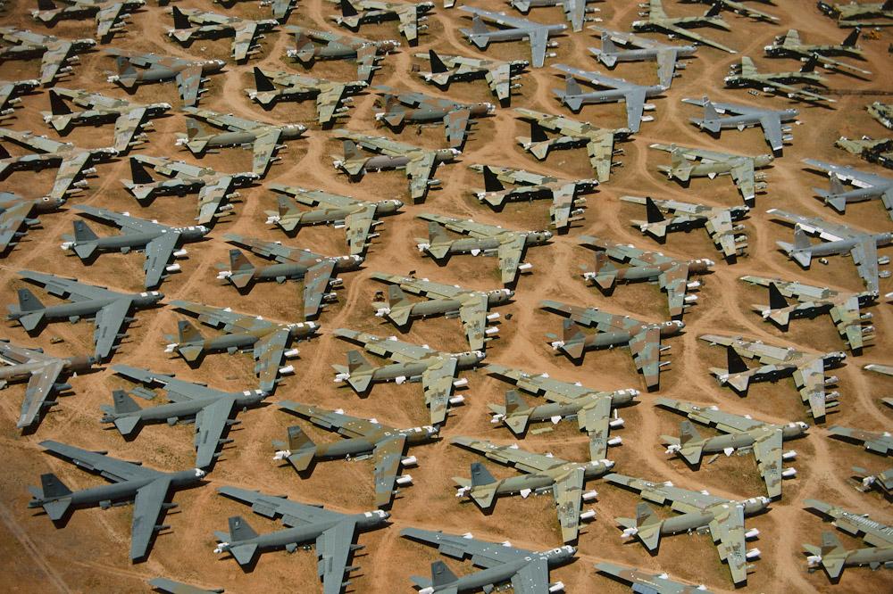 B52 BONEYARDTucson, Arizona