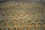 "Fleet of B-52 Bombers at the ""Bone Yard""Tucson, ArizonaRef #: LS_5392_28"