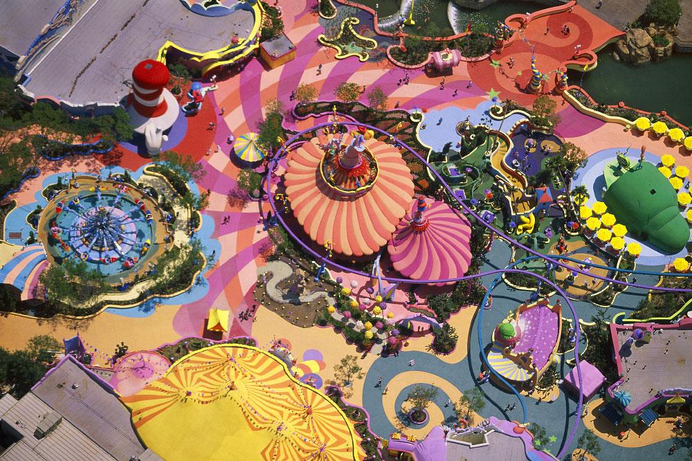 Universal Studios, Pedestrian Walks & Amusement RidesOrlando, FloridaFilm, Ref #: LS_6895_16