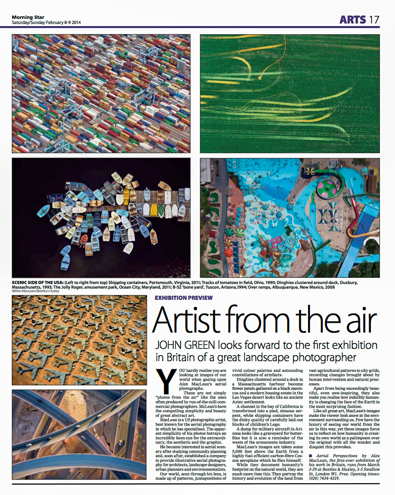 Morning Star UKArtist From The AirFebruary 2014