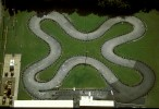 Go-cart Racetrack Configured to Maximize LengthDallas, Texas Film, Ref #: LS_7903_10