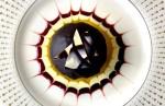 dessert, chocolate, raspberry, spiral, decoration, pastry