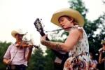 musicians, guitar, fiddle, cowboy hat, cowboy, cowgirl, sing, western, redhead, tattoo