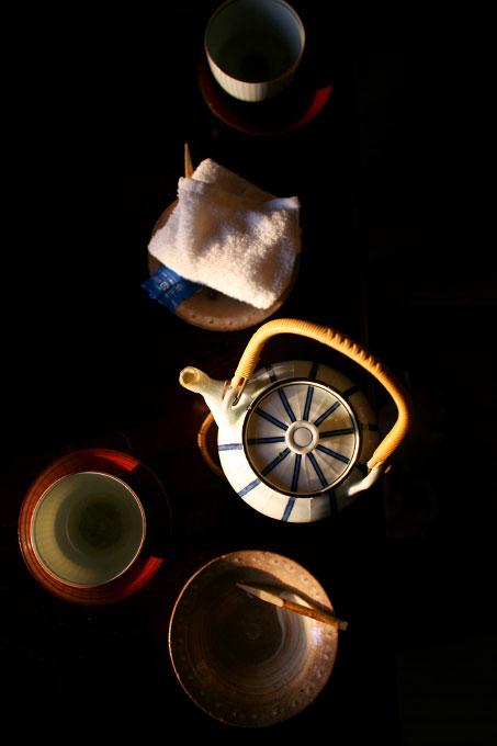 tea, Kyoto, Japan, teapot, warm, cup, cloth, towel, drink