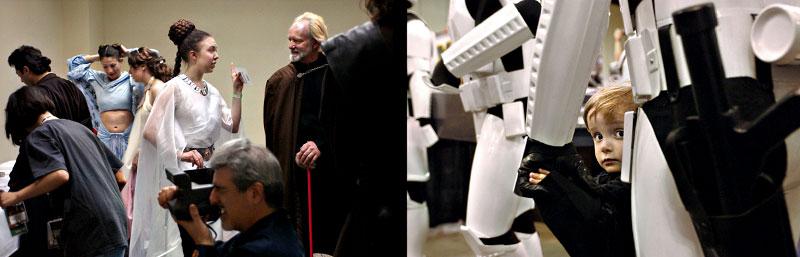 Star Wars, Darth Vader, Princess Leia, light saber, costume, fantasy, sci fi, convention