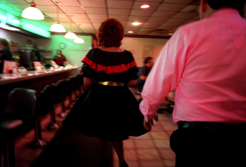 square dance, skirt, diner, nightcap, going out, evening, date