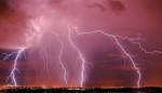 Monsoon Lightning Storm