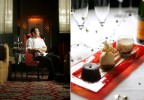 Alejandro Luna, 26, executive pastry chef and {quote}Night at the Movies{quote} dessert at Langham Hotel in Boston.