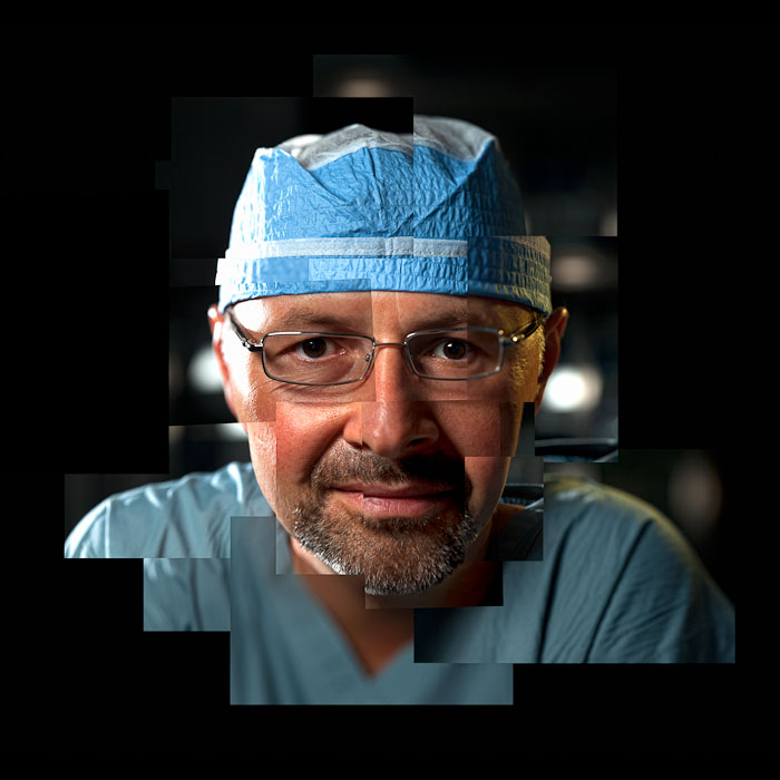 Portrait of face transplant surgeon Dr. Bohdan Pomahac.