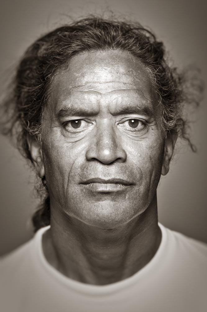<b>Name:</b>Titus<b>Age:</b>52<b>Date photographed:</b>August 21, 2006<b>State of birth:</b>Territory of Hawaii (before it was a State)<b>Ethnic heritage:</b>Hawaiian<b>Occupation:</b>Professional surfer (big wave), currently 8th in the world<b>Most life-changing event that has happened to you:</b>Meeting my wife, my two daughters and meeting God