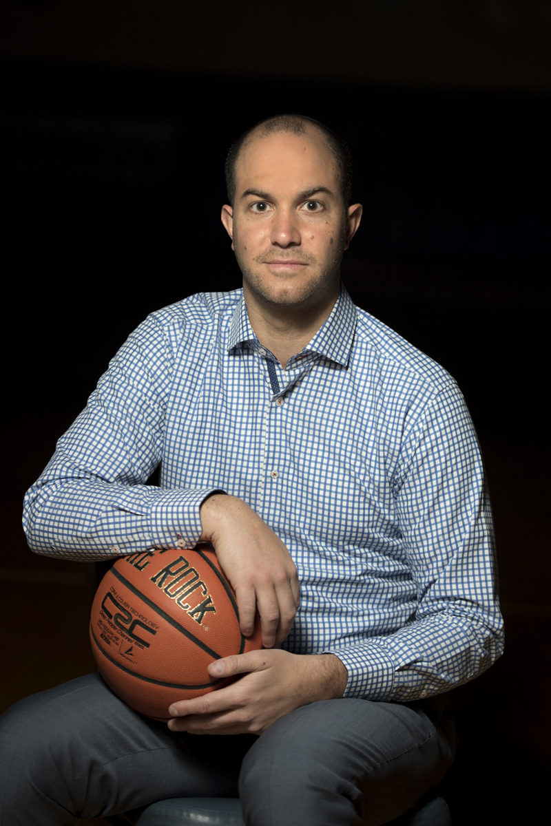 Elliot Steinmetz, Men's Basketball Coach at Yeshiva University