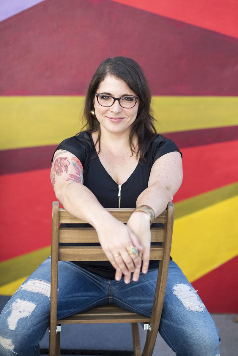 Dana Leavy-Detrick, owner of Brooklyn Resume Studio
