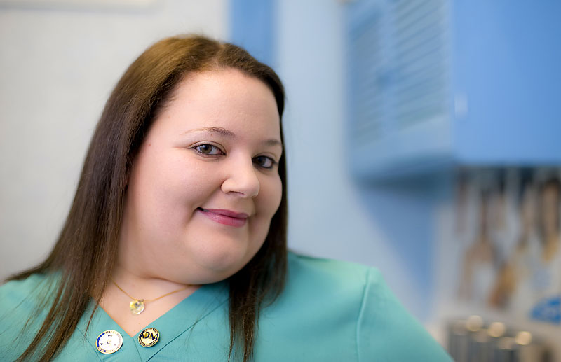 Portrait of Patricia Pepe, of Dr. Gerard DeSapio & Associates,  -- Hoboken, New Jerse. 2010 Dental Assistant of the Year.