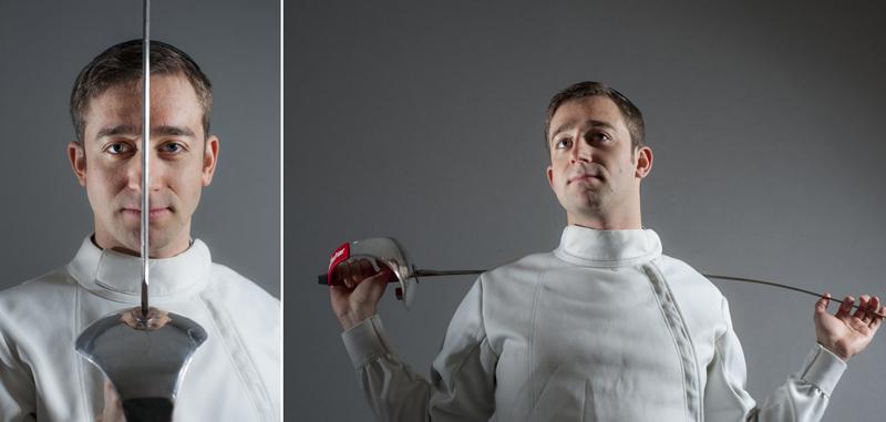 Yitzy Frankel - fencing