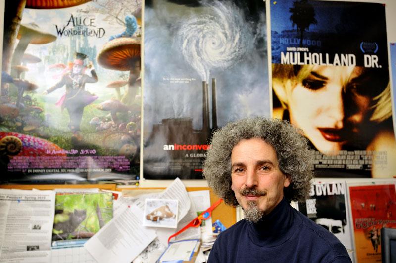Portrait of Albert Gabriel Nigrin, Executive Director/Curator of the New Jersey International Film Festival -- New Brunswick, New Jersey