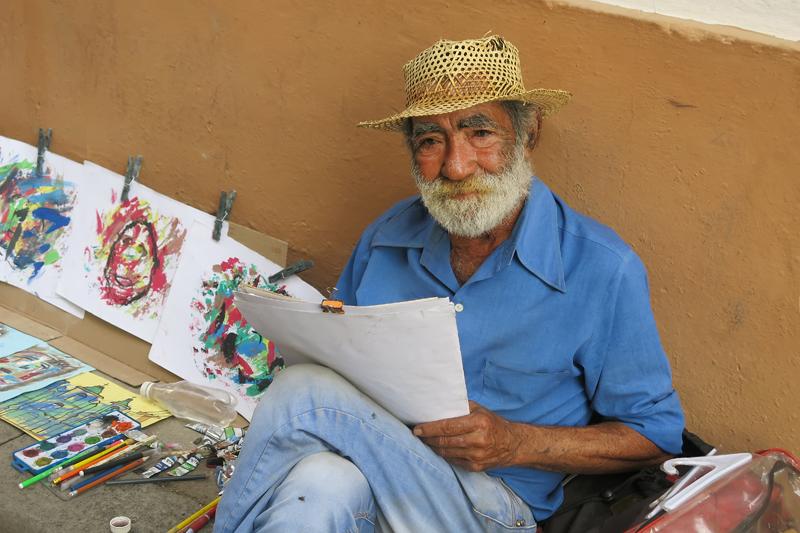 Street Artist - Havana, Cuba