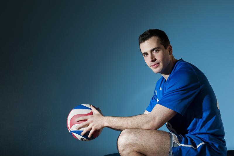 Jared Rechnitz - volleyball
