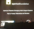 New York Photo Festival, Aperture Presenation