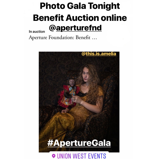 2019 Aperture Gala - {quote}Muse{quote} Photo: Guadalupe Gold, Amelia and Emily JUNE 3, 2019