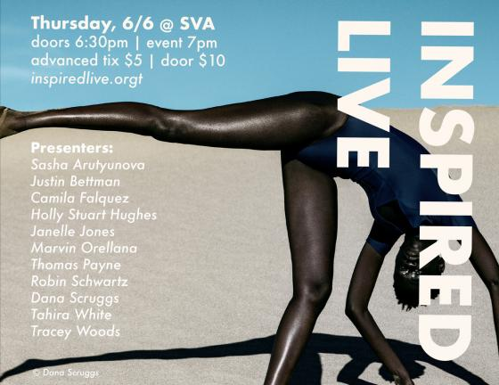 Inspired Live  SVA Theater NY,  June 6, 2019 Presentations - 6 minutes, 15 slides at 20 seconds each.