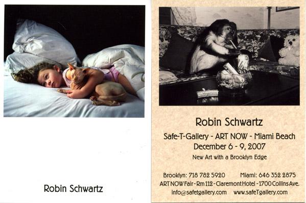 Safty Gallery Card for Pulse Miami Art Fair