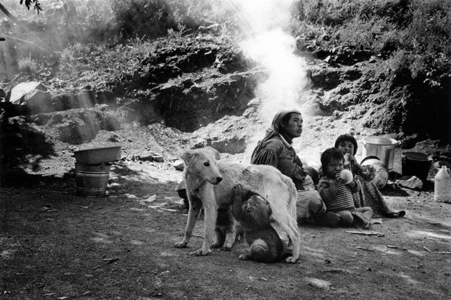 Mothers Nursing, Huicholes, Sierra Madre