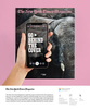 Featured in a NYT ad explaining how The New York Times Magazine is using Google Lens.   Bring The New York Times Magazine cover to life with Google Lens