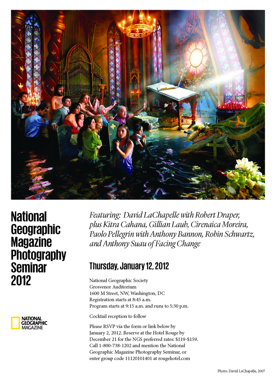 National Geographic Invitation