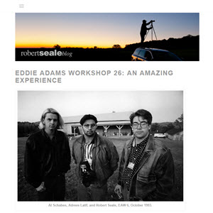 EDDIE ADAMS WORKSHOP  - MASTER TALK