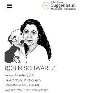 Honored to be a Guggenheim Fellow in Photography, 2016