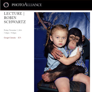 Photo Alliance --San Franciso Art Institute Lecture AMELIA AND THE ANIMALS book APERTURE